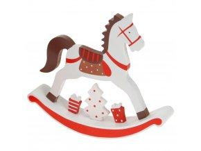 Dekorativní figurka houpací kůň