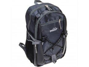 Pohodlný batoh, sportovní, školní  barva černá, 18 l