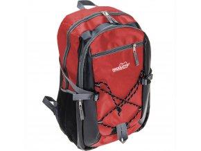 Pohodlný batoh, sportovní, školní  barva červená, 18 l
