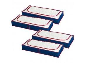 Vak na ložní prádlo, oblečení, deky - 4 kusy v sadě, WENKO