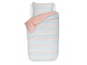 Bavlněné povlečení na postel pro jednu osobu, bavlněná percale, povlečení v moderním stylu, oboustranná postel, obrázkové povlečení, sada povlečení, Esprit, 140 x 220 cm - 140x220+60x70