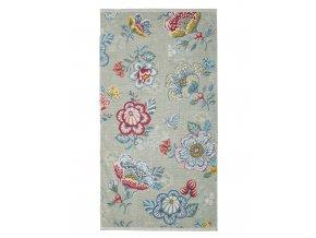 Koupací ručník, velký ručník, koupelny ručník,100% Bavlna, v květinové vzory,100% bavlna velur, PiP Studio - 55x100