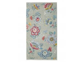 Koupací ručník, velký ručník, koupelny ručník,100% Bavlna, v květinové vzory,100% bavlna velur, PiP Studio -  70x140