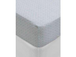 Hladké  prostěradlo, luxusní prostěradlo z hladkého úpletu, 100% bavlna, prostěradlo s gumičkou, květinové vzory, PiP Studio - 180x200
