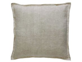 Dekorační polštář, ozdobný potah na polštář  45 x 45 cm, písková barva, moderní design, Marc O'Polo
