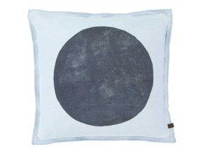 Dekorační polštář, ozdobný potah na polštář  45 x 45 cm,  modrá barva, Marc O'Polo