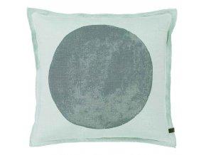 Dekorační polštář, ozdobný potah na polštář  45 x 45 cm,  barva zeleň oceánu, Marc O'Polo