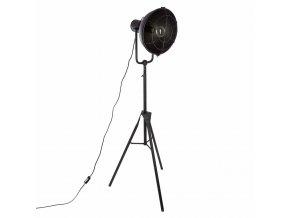 Stojací lampa, zdroj světla, které přidá originální prvek do každé místnosti