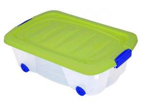 Kontejner  na kolečkách pro skladování  24l