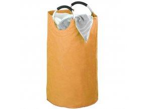 Koš na prádlo JUMBO, barva oranžová 69 l