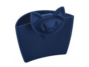 Víceúčelová nádobka na šálek MIMMI, barva modrá KOZIOL