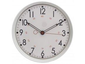 Bílé hodiny na stěnu, moderní hodiny, hodiny doobýváku, hodiny do kuchyně, dekorativní hodiny, designové hodiny, bílé hodiny