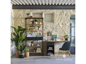 Umělý strom bonsai, exotický květ v jiném provedení, ideální do kanceláře