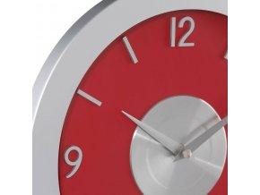 Hodiny na stěnu vmoderním stylu, hodiny sčíslicemi, moderní hodiny, hodiny do obýváku, kuchyňské hodiny, červené hodiny