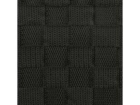 Box na špinavé prádlo v černé barvě, černý koš na prádlo, látkový koš na prádlo, koupelnový koš, box na prádlo