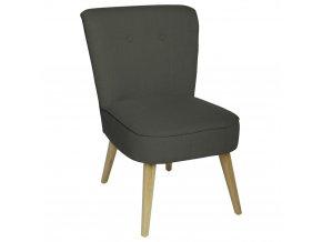 Čalouněné křeslo šedé barvy, židle křeslo, křeslo do ložnice, křeslo do obývacího pokoje, křeslo, prošívané křeslo, křesla do pokoje
