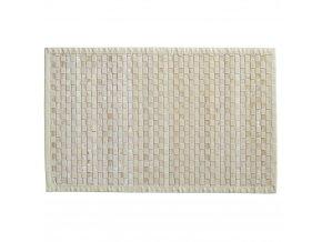 Předložka kobercová zbambusu, rohož nabalkón, pletený koberec, světle hnědá barva koberec, přírodní koberce, módní koberce, bambusová předložka