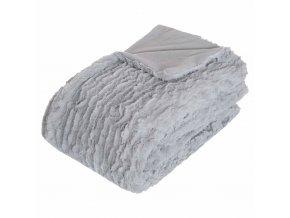 Přehoz na postel – příjemný pléd ideální na mrazivé dny