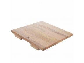 Čtvercová deska ELOA na krájení z mangového dřeva
