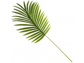 Umělá větev palmy, originální rostlinná ozdoba