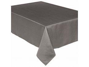 Tmavě šedý ubrus, elegantní pokrytí stolu vyrobené z vysoce kvalitního materiálu