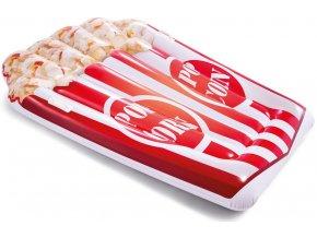 Nafukovací matrace ve tvaru popcornu