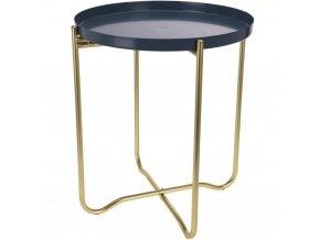 Home Styling Collection Kovový kávový stolek do kuchyně