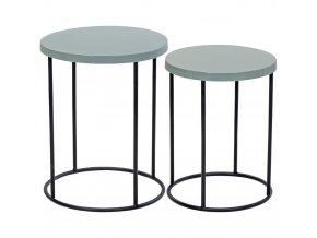 Home Styling Collection Sada dvou kávových stolků – na výjimečné příležitosti