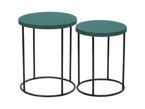Home Styling Collection Sada kávových stolků – dekorační nábytek do kuchyně