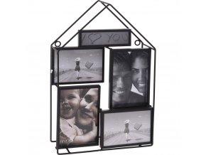 Fotorámeček, rámeček na 5 fotografií – jedinečná dekorace