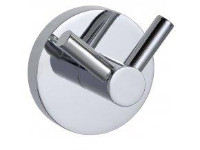 Koupelnový věšák PINETO DUO, Power-Loc - nerezová ocel, WENKO