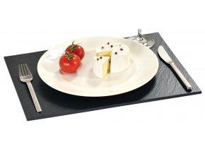 Kamenné prkénko k servírování sýrů a uzenin, stylová a módní miska k servírování občerstvení