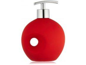Dávkovač na mýdlo HOLE RED - 330 ml, WENKO
