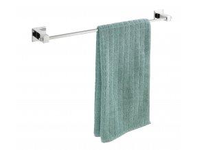 Držák na ručníky z nerezové oceli, montáž bez vrtání, FORMIA WENKO