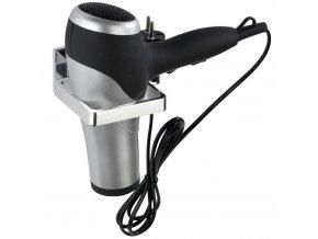 Univerzální nástěnný držák na fén WENKO ze série koupelnových doplňků Formia