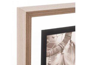 Multirámeček na fotografie, krásný obdélníkový rám, který pojme až 8 fotografií
