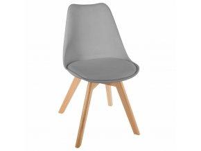 Židle s dřevěnýma nohama, krásná židle v minimalistickém stylu