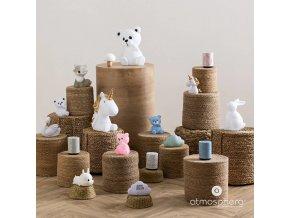 Noční lampička, roztomilá svítící liška, která bude zdrojem světla v dětském pokoji