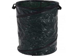 Skládací zahradní koš s kapacitou 87 litrů, silný pytel do zahrady na listí a rostlinný odpad