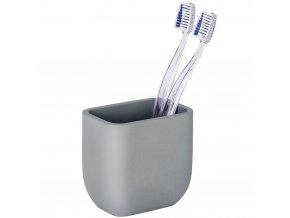 Nádoba-hrnek na zubní kartáčky Concrete, minimalistický ale také praktický design