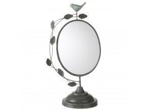 Bílé zrcadlo natoaletku, dekorativní zrcadlo, bílé zrcadlo, stojací zrcadlo, zrcátko, dekorativní výrobky, koupelnové doplňky