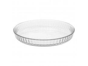 Forma na pečení tarte s víkem, univerzální skleněná nádoba
