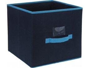 Skládací textilní kontejner s víkem - 30 l