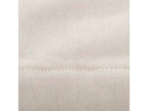 Závěs béžové barvy z polyesteru je perfektní ozdobou domácího interiéru