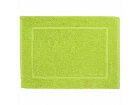 Pistáciový koupelnový ručník z bavlny