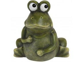 Ozdobná žába v originálním stylu 12x14 cm