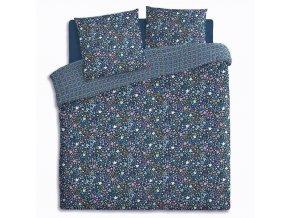 Bavlněné povlečení paplonu a polštáře v abstraktní vzoru, který vám poskytne pohodlný noční spánek