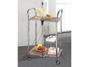 Barový stolek na kolečkách PREMIUM DINETT, WENKO