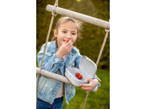 Krabička na svačinu PASCAL S -  organic grey, KOZIOL