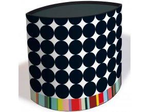 Koš na odpadky, kartonový kontejner pro dětský pokoj v atraktivních barvách